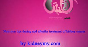 Nutrition tips during after kidney canser