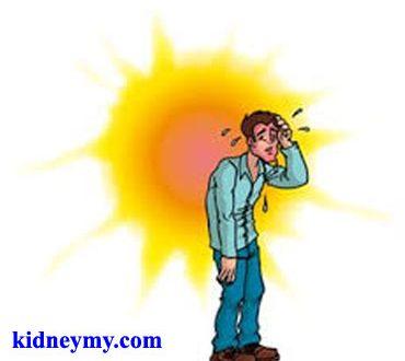 الصدمة الحرارية وما يجب فعلة