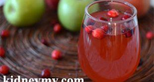 المشروبات المفيدة والضارة لمرضي الكلى والسكر