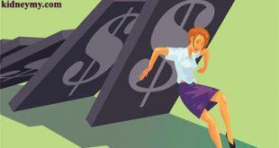 المخاطر الصحية بسبب الضغوط مالية