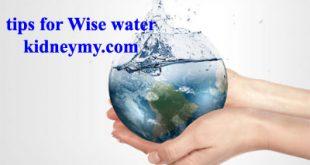 الماء الحكيم لصحة كليتك