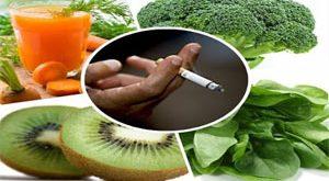 تنظيف الجسم من النيكوتين وآثاره بالاطعمة الطبيعية