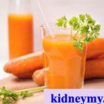 عصير الجزر لتنظيف الجسم من النيكوتين