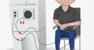 كيف تعمل آلة غسيل الكلى