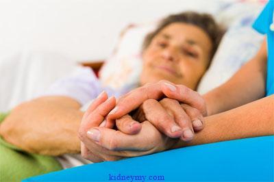 الرعاية الملطفة مع مرض الفشل الكلوي