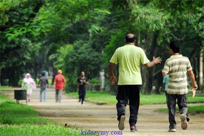 تحسين صحة الكلى بالتمارين الرياضية