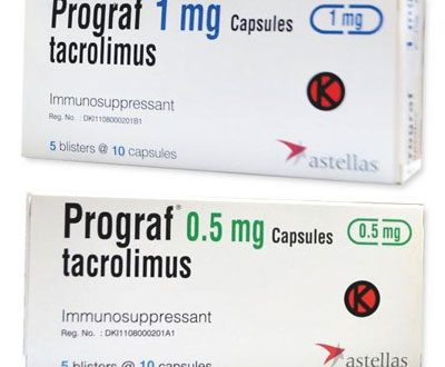 كل ما يجب ان تعرفة عن دواء بروجراف كبسول لتثبيط المناعة