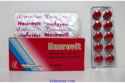 دواء نيوروفيت Neurovit
